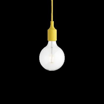 Muuto E27 Pendant Lamp yellow inkl. 2 Watt LED Pendelleuchte