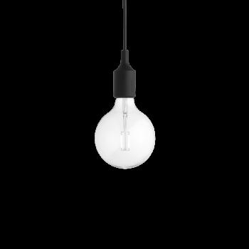 Muuto E27 Pendant Lamp black inkl. 2 Watt LED Pendelleuchte