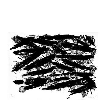 Günther Uecker - 'Bruch' handsigniert & nummeriert, Auflage 100, ZERO, Nagelbild, Lithographie