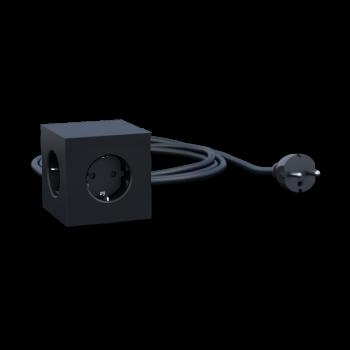 Square 1 USB+Magnet-schwarz