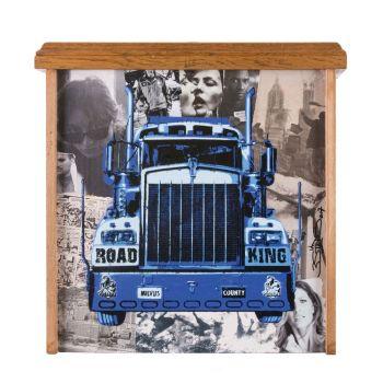 DRAWER - ROAD KING BLUE | 3STEPS