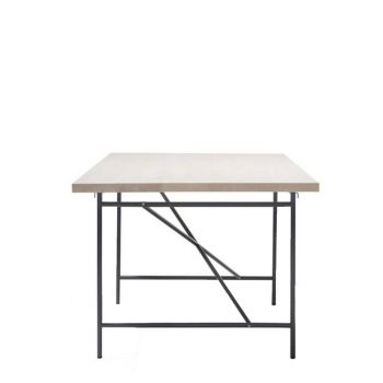 Eiermann I + Tischplatte 200x90cm