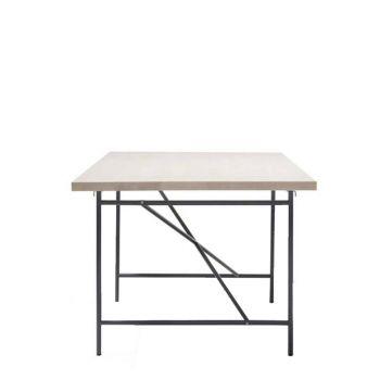 Eiermann I + Tischplatte 200x100cm