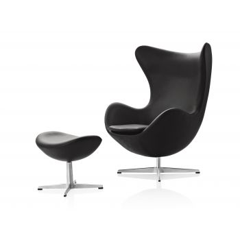 Egg Chair Leder