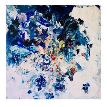Blue 2018 (160x160cm)