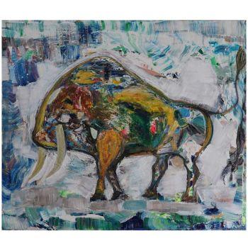 Bull 2018 (120x140cm)