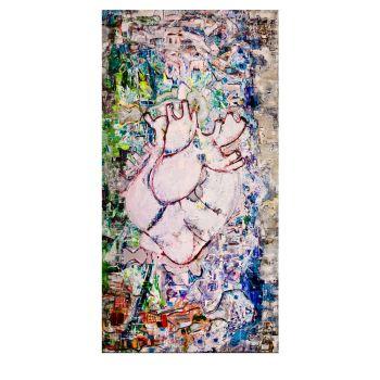 Das Herz (220x90cm)