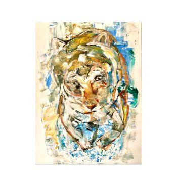 Tiger Love (80x60cm)