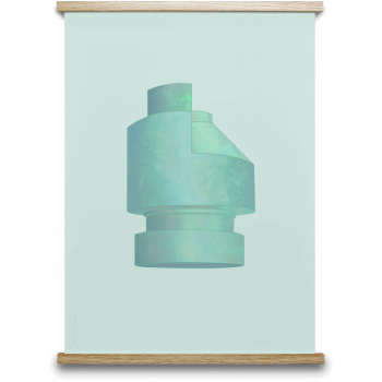Stone silo 03 50x70cm