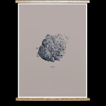 1:1 Hailstone 50x70cm