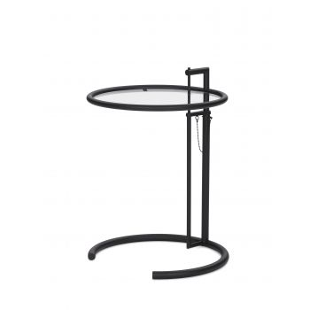 Adjustable Table E 1027 schwarz