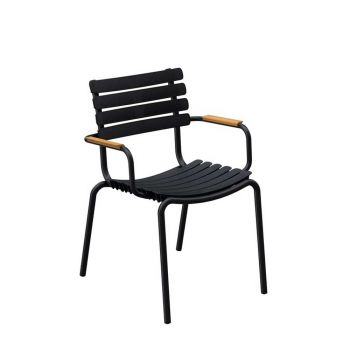 ReCLIPS Dining Chair mit Bambus-Armlehne