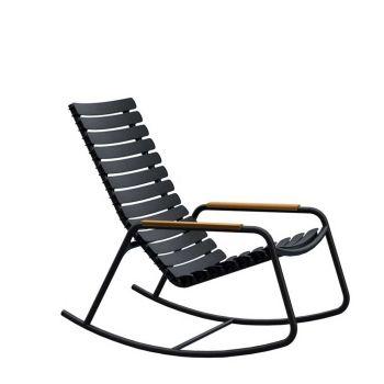 ReCLIPS Rocking Chair mit Bambus-Armlehnen