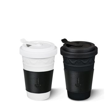 To-go Becher-Set Kurland inkl. Ledermanschetten