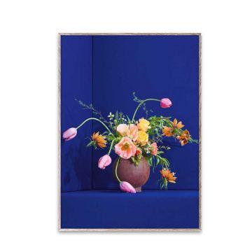 Blomst 01 - Blue