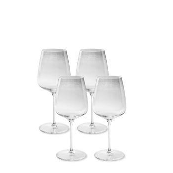 Rotweinglas-Set KURLAND (4-teilig)