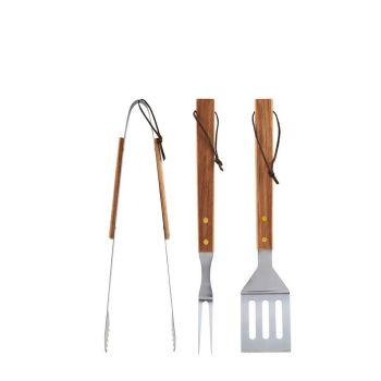 BBQ-Werkzeuge Akazie