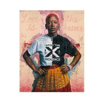 Stop the violence | Limitierte Edition von Tim Okamura