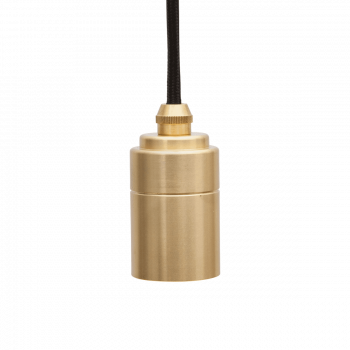 Brass Pendant Messing Fassung E27